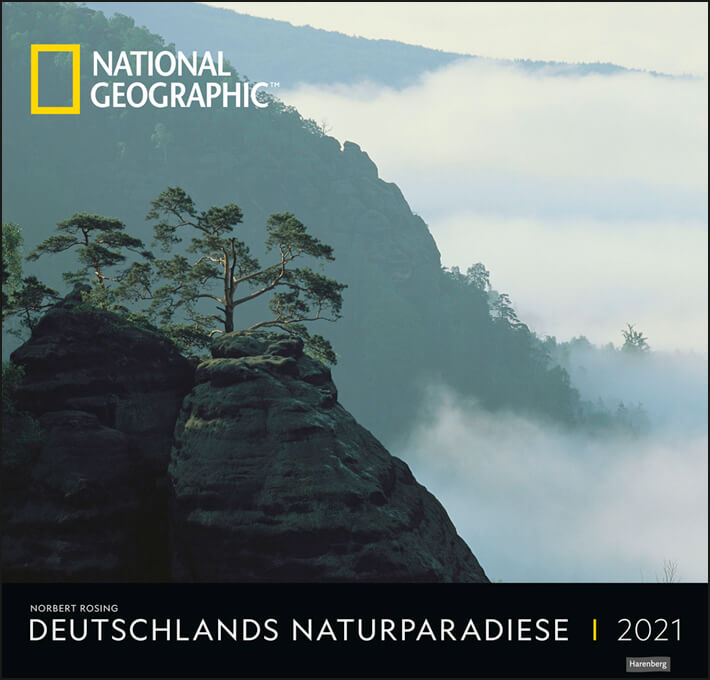 Deutschlands Naturparadiese National Geographic Kalender 2021