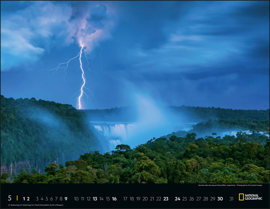 Magic Moments Posterkalender National Geographic 2021