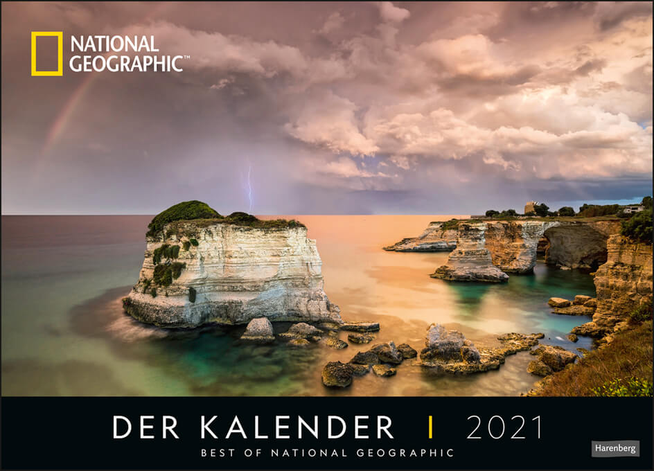 Der Kalender – Best of National Geographic Edition Kalender 2021
